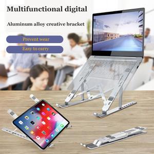 Laptop leggero raffreddamento stand mobile verticale Laptop stent pieghevole Tablet basamento della staffa Supporto Notebook per MacBook Air Pro