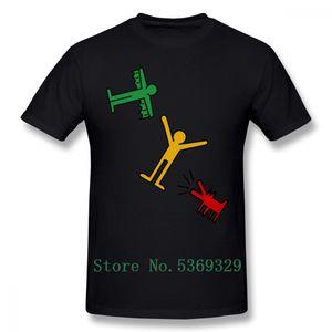 Keith Haring maglietta Keith Haring T-shirt divertente Mens Tee Shirt 100 Percent Streetwear 100% cotone stampato Big maglietta