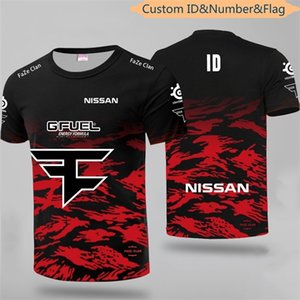 LOL CSGO Top Team Faze Uniform Jersey Tshirt Niko Fans T-shirt Men Women Faze Clan Custom ID T shirts Rain Tee Shirt Dota2 0921
