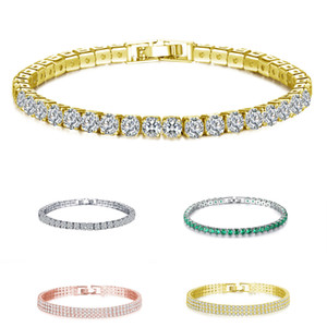 Encantador señoras de la moda pulsera tarjeta del día Recuerdos Ejercicio Completo pulseras de cristal de moda de joyería conmemorativa VT1655