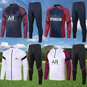 París Mbappé chaquetas de chándal de fútbol 2020 21 PSG de juego que activa Verratti CAVANI Formación SARABIA ICARDI ANDER HERRERA fútbol Survetement