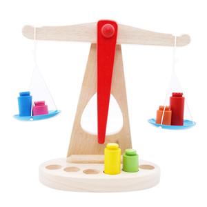 재미 나무 잔액 규모 장난감 몬테소리는 스케일을 찾았 조기 교육 게임 장난감 유치원 교육 완구 키즈 LJ200907 무게