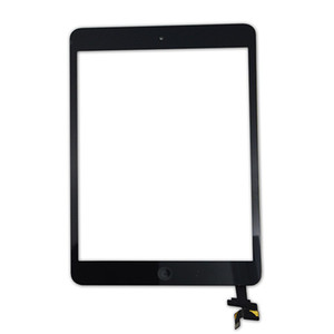 Screen With 2 Front Ipad Home 1 Besegad Apple Digitizer Mini Button Replacement Camera Touch For Bracket Glass Adhesive A1432 oHnLd