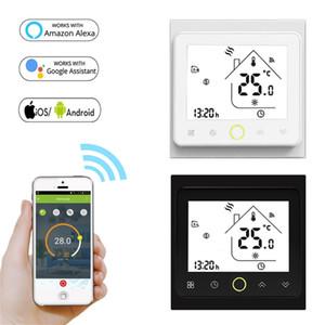 Contrôleur de température Thermostat Smart WiFi pour eau / électrique chauffage eau / chaudière à gaz fonctionne avec Alexa Google Home