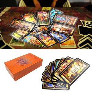Aile Tarot Kartları 78 Kart Oyunu Kehanet Rehberlik Güverte Gizemli Parti Of English Kader Kolay Kurulu Oracle YllBE bdesports