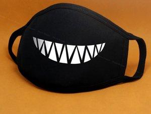 Mask Mouth Black Anti-Dust Anti Pollution Respirator Mask Fashion Cute Bear Kpop Animal Face Mouth Masks Cartoon Cotton Face
