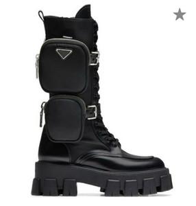 mulher Sapatos estilo clássico europeu, Ladies'Shoes, botas Martin botas, Bag decoração Motorcycle Ankle Boots, sensuais botas de couro reais