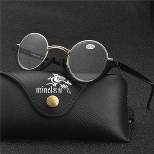 2020 новых женщин Круглый Reading Glasses Винтаж Clear Eye Glasses Hyperopia Reading мужской Мужчины диоптрий очки Новый NX
