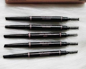 Newest Anna Waterproof Double-head Automatic Eyebrow Pencil 2-in-1 Rotating Eyebrow Pencil Easy to apply makeup Free Shipping