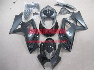 New injection fairings kit+7 Free gifts for SUZUKI K7 GSXR1000 GSXR 1000 07-08 SUZUKI GSXR1000 2007-2008 K7 bodywork #BLACK #S6Y12