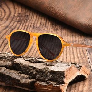 la conducción del conductor vidrios de Sun kCADZ Placa hombres conductor polarizado tendencia piloto Plate Sunsun sol de los glassesmen polarizado piloto de conducción gafas de sol t
