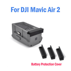 3pcs set Drone Body Battery Port Protection Cover Dust-Proof Cap for D-ji Mavic Air 2 with Battery Accessories