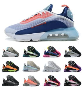 2020 Air 2090 Be True Hommes Chaussures de course Praia Grande Neymar Jr x lumière orewood air2090 brun Maxes Magma Orange Blanc Noir chaussures de sport Sport
