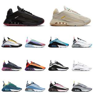 나이키 에어 맥스 2090 남성 여성 운동화 퓨어 플래티넘 덕 카모 퓨처리즘 세일 라바 글로우 be ture 남성 여성 des chaussures zapato sneakers 36-45