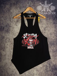 GymShorts Vêtements hommes Fitness Leggings Gilet Stringer singlet imprimé Outdoor_product Golds Gym Tank Top muslce culturisme Shark BULLS Cott