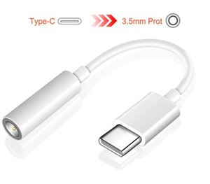 Para el tipo -C 3, 5 mm para auriculares Adaptador USB Cable de audio Música Puerto 3 0.1 Tipo C 3 0.5 Aux Gato para Letv 2 Pro 2 Max2
