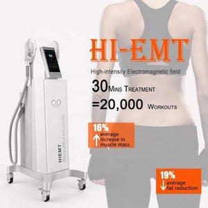 2020 последняя EMslim HI-EMT машина EMS электромагнитной Миостимуляторы сжигание жира формирование hiemt emsculpt красота оборудования