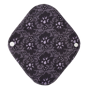 Creative bamboo charcoal fiber sanitary pad button washable care pad aunt towel mother and baby products 20 * 18cm25