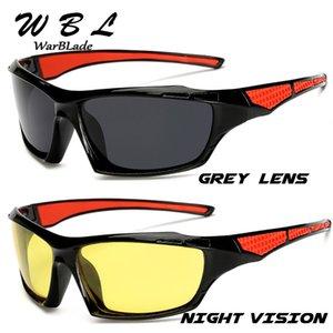 W1019 Warblade 2020 uomini polarizzati New Sun Glasses superiore Maschio Occhiali da sole Sport Eyewear Brand Design UV400 Uomo
