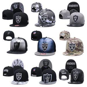 Venta al por mayor Envío gratis Cap de béisbol Raider Snapbacks ajustable Sombreros gorras Caps Equipo deportivo Caps de calidad para hombres y gorra de béisbol de hueso