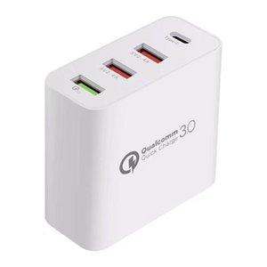 Hızlı Cep Telefonu Şarj Cihazı Qc 3 0 Yeni Şarj 48W Usb Şarj Quick Charge 3 0,0 QC3 0,0