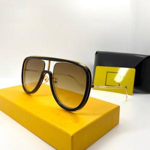 0068 señoras simples gafas de sol de moda de moda Las gafas de sol anti-UV gafas de sol glamour con el empaquetado 0068S