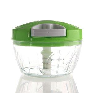1PCS Многофункциональный ручной измельчитель ручной Rope Комбайн Silcer Shredder Salad Maker Box стиль Чеснок Лук Slicer Cutter