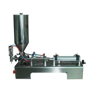 Paste Füllmaschine 5-300ml pneumatischen Kolbenfüller für Flasche, cup Abfüllanlagen halbautomatische visocous Material fill CE