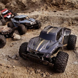 4WD 1:12 Boys High Speed Rock RC Car Rock Crawler Remote Electric Toy Climbing Buggy 2.4G Gift Road Off Kids Control Ajwkv