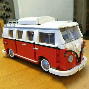 10569 Technic T1 Camper Van Creator Expert Building Blocks Model Bricks Giocattoli fai da te 21001 10220