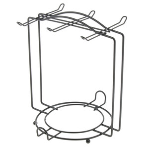 Classic Steel Mug Holder Cup Dish Organizer Rack Stand