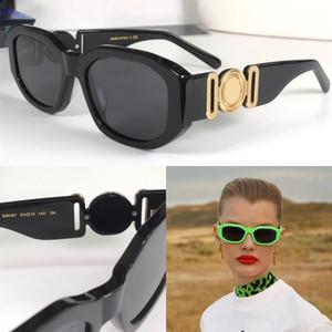 تصميم نظارات شمس 4361 عرض للأزياء صغيرة تصميم بسيط النمط الشعبي الكلاسيكية UV400 في الهواء الطلق الرجعية النظارات نظارات بالجملة