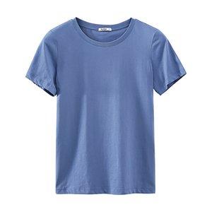 A11 2020 T-shirt homme noir d'été T-shirt des hommes petits CHEVAUX broderie à manches courtes Casual solide blanc T-shirt coton pour hommes T-shirt Hauts S-3XL