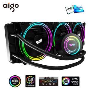 برنامج محول darkFlash مياه التبريد AIO PC RGB تبريد المشعاع لصق الحرارية وحدة المعالجة المركزية تبريد غرفة تبريد لLGA 775/1151/1366/2011 / AM3 + / AM4