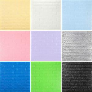 3d ملصقات الحائط تقليد الطوب نوم ديكور للماء ذاتية اللصق للجدران ل غرفة المعيشة المطبخ التلفزيون