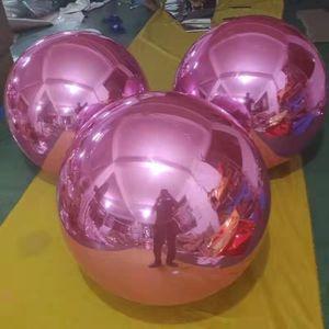 Kostenloser Versand 1.5m Kundenspezifische Riesenfest PVC Aufblasbare Mirror Ball für das Marketing oder Eventdekoration Ballon