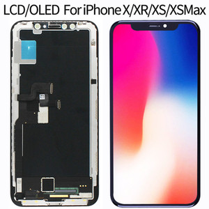 For iPhone X LCD Display Screen 3D Digitizer Touch Screen Assembly For iPhone XR XS MAX Lcd Oled  TFT incell