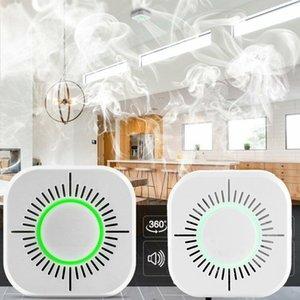 Wifi 433MHz Kablosuz Duman Dedektörü Yangından Korunma Taşınabilir duman dedektörleri Ev Güvenliği Güvenlik alarmı Sensör systerm parçalar