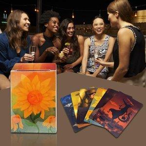 Tarot Englisch Game Cards Dixit Karte für Tisch Deck Parteien Expension 84pcs Gathering Karten Familie Harmonies Spiel wMCEw bdehome