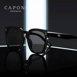 Objetivos, Caponi retro suave sol gafas oscuras sombras de la vendimia de nylon Defender Uv Gafas de sol Ray 2020 nueva plaza para hombres Cp7453