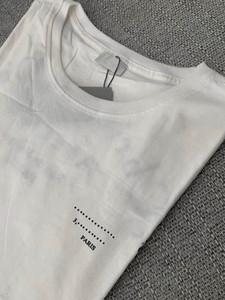 Mens t-shirt homens soltos T Letters Curve Imprimir verão respirável manga curta Top Sell Camiseta Asiático Tamanho