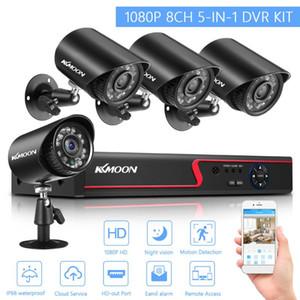 Home Security Camera System 4CH DVR Открытый Водонепроницаемая камера видеонаблюдения Обнаружение движения удаленного доступа видеонаблюдения DVR Kit
