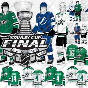 Dallas Stars 2020 Stanley Cup Final Jersey Alexander Radulov Joe Pavelski Joel Kiviranta Ben Bishop Miro Heiskanen Corey Perry Tyler Seguin