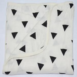 عدن أنيس 100٪ الشاش شاش القطن الطفل قمط حمام بطانية منشفة، طبقة مزدوجة سميكة الكرتون الطفل البطانيات الوليد، 120 120CM *