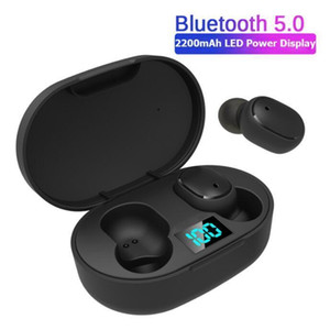H6 Tws Wireless Earphone Earbuds Led Display 5 .0 Wireless Earphones Life Waterproof Bluetooth Headset With Mic Better Than A6s And E6s 20x