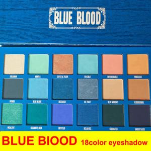 Hot J Cinco Estrela Azul Blood Sango Paleta Maquiagem Cremated 18 Cor Sombra Paleta Shimmer Fosco Frete Grátis