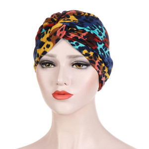 Women India Hat Muslim Ruffle Femme Musulman Cancer Chemo Beanie Turban Wrap Scarf Cap Islamic Head Cover Hair Loss Hats #T1P