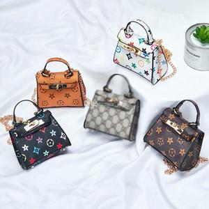 Klassische Mustertasche Neue Kinder Handtaschen Mode Baby Mini Geldbörse Umhängetaschen Teenager Kinder Mädchen Messenger Bags Nette Weihnachtsgeschenke