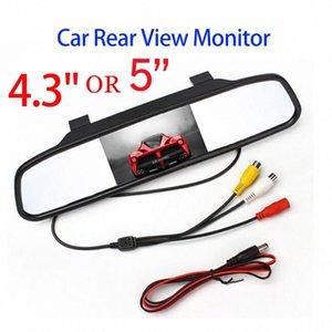 SINOVCLE سيارة مرآة الرؤية الخلفية رصد HD فيديو موقف السيارات مراقب TFT شاشة LCD 4.3 أو 5 بوصة مع مربع للبيع بالتجزئة 3ATA #