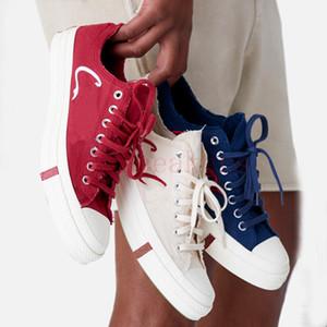 2020 أحذية الإصدار الجديد أعلى منخفض KITH كل نجم 1970s حزب اتحاد ثلاثة قماش حذاء رياضة OX رجل إمرأة كريستال المطاط سكيت EUR 36-44